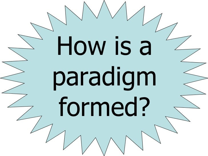 Paradigm created