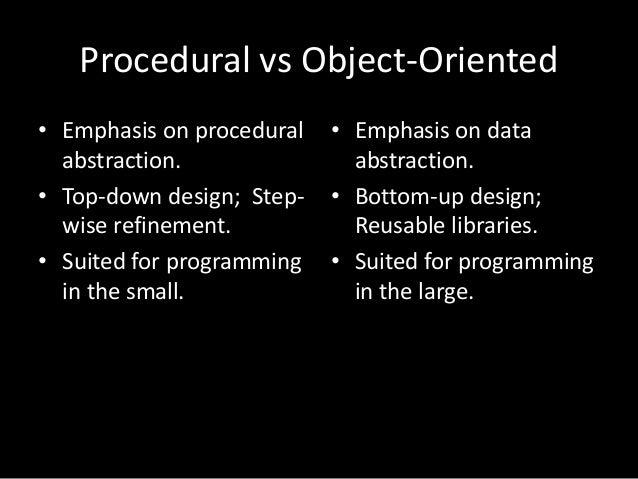 how to choose oop vs functional vs procedural