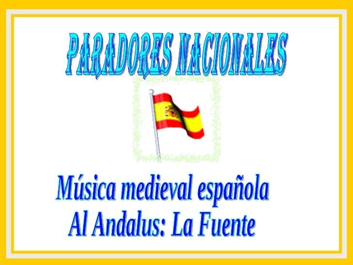 Paradores españoles