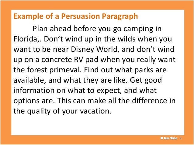 Writing The First Paragraph Of A Persuasive Essay Paragraph