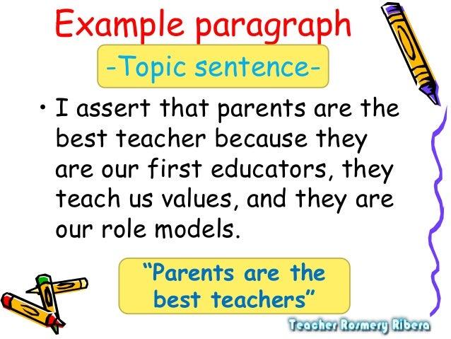 parents are best teachers or role models essay