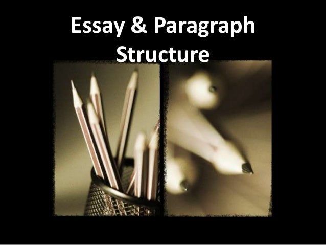 Paragraph and essay structure