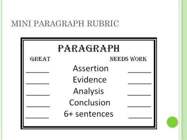 Rewriting paragraphs
