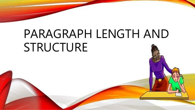essay paragraph length
