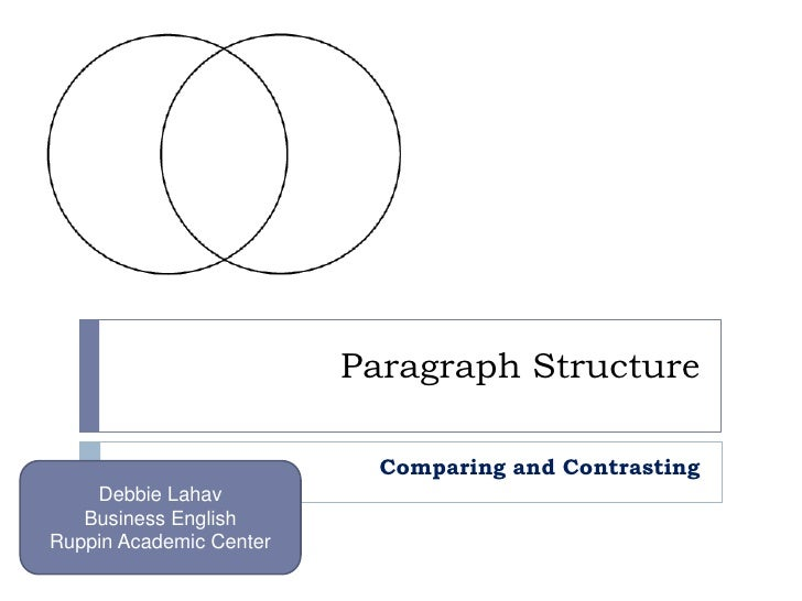 5 paragraph comparison and contrast essay How to write a compare contrast thesis categories will form the paragraphs of the essay this thesis is a verbal engine sufficient to drive the type of essays.