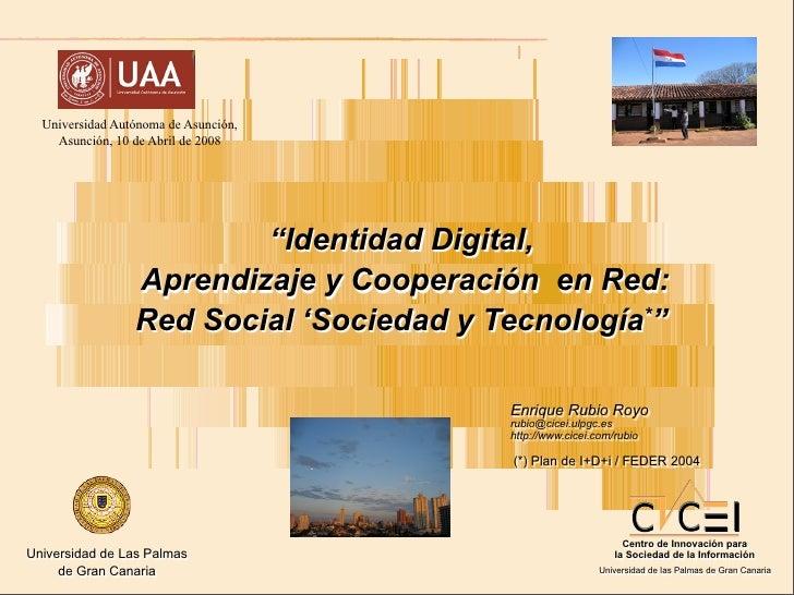 UAA-Paraguay, Proyecto Suricata y Red Social 'Sociedad y Tecnología'