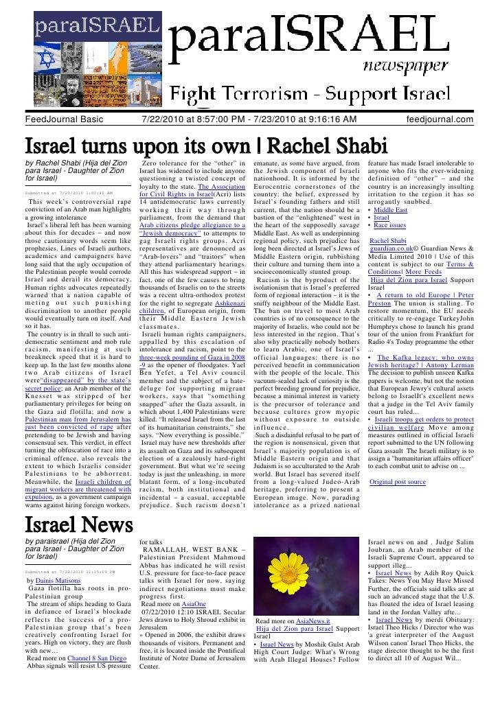 Para Israel 23072010