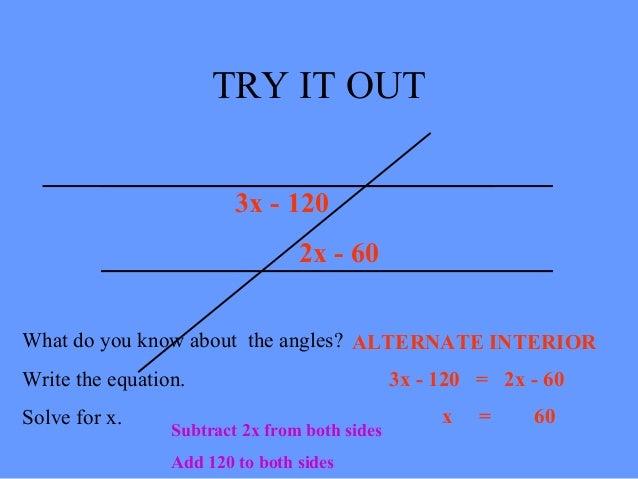 Image Gallery Interior Angles Equation