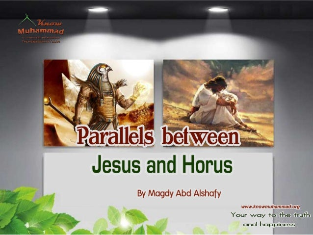 parallels between jesus and horus