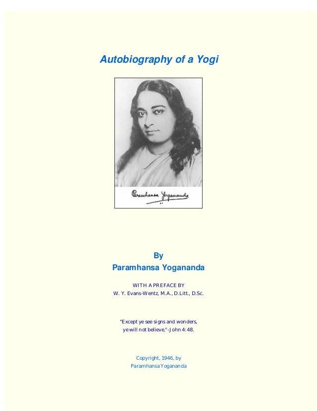 Autobiography Yogi