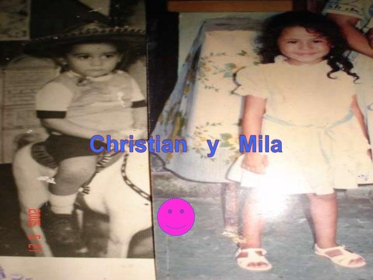 Christian   y   Mila<br />