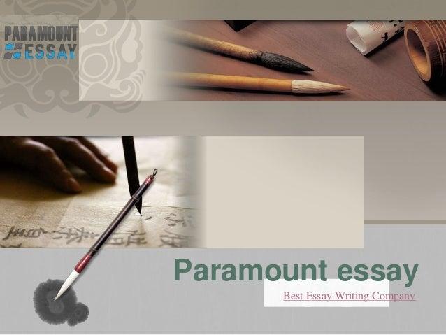 Essay writing company