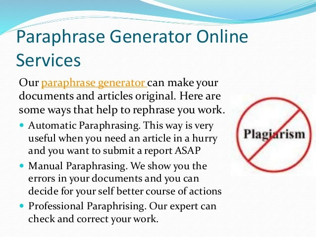 essay synonym generator Essay paraphrase generator looking for a world-class essay writing service we offer every type of essay service for a wide variety of topics.