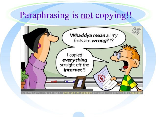paraphrasing on the art of living When you paraphrase something, you are using your own words to restate the  meaning of an existing quote or piece of text paraphrasing is a critical skill to de.