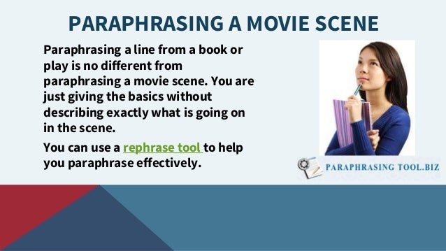 How to cite paraphrases