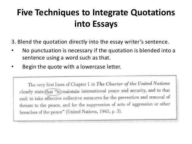 quotation integration in antaeus essay