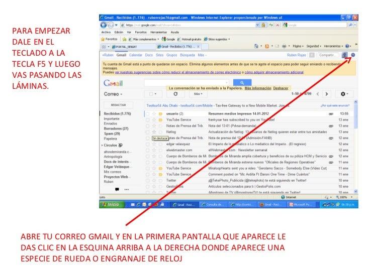 Para poner gmail en español