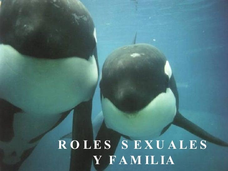 ROLES SEXUALES Y FAMILIA