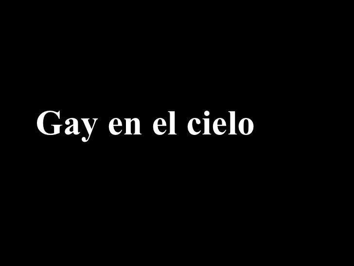 Gay en el cielo
