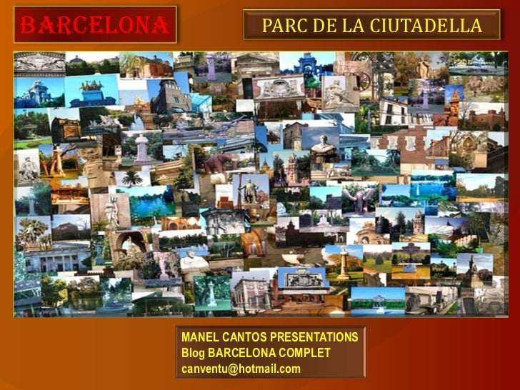 BARCELONA 45 PARC CIUTADELLA - ENGLISH