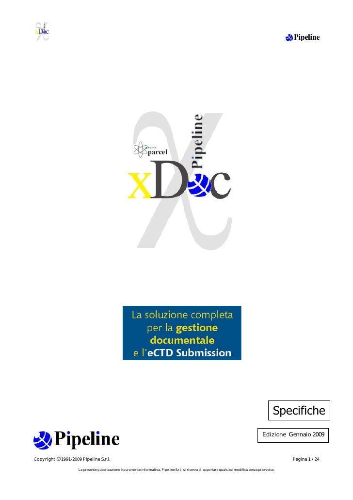 ECTD con Parcel XDoc