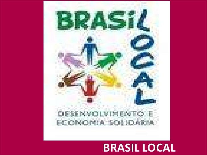 BRASIL LOCAL<br />