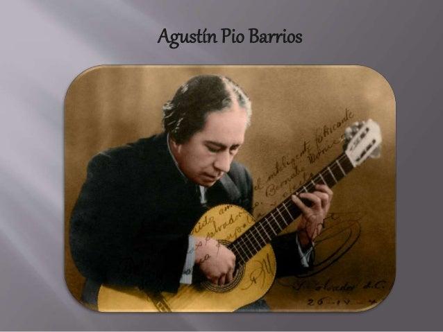 Agustín Pio Barrios