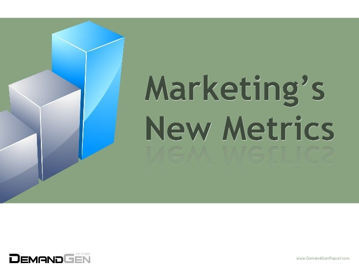 Marketing's New Metrics - Pardot Users Conference