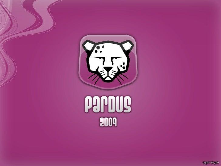 Pardus Linux English Presentation