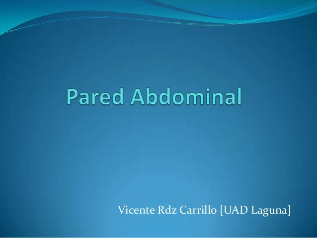 Vicente Rdz Carrillo [UAD Laguna]