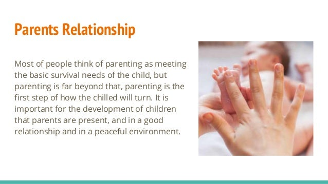 parent and child relationship