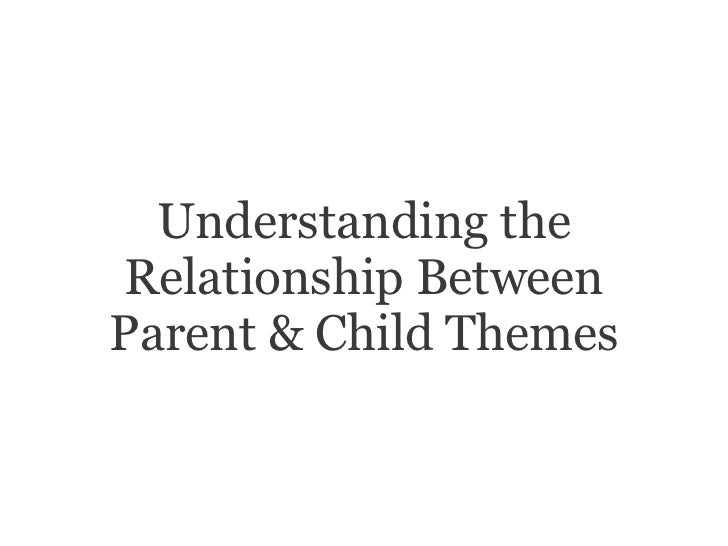 Understanding theRelationship BetweenParent & Child Themes