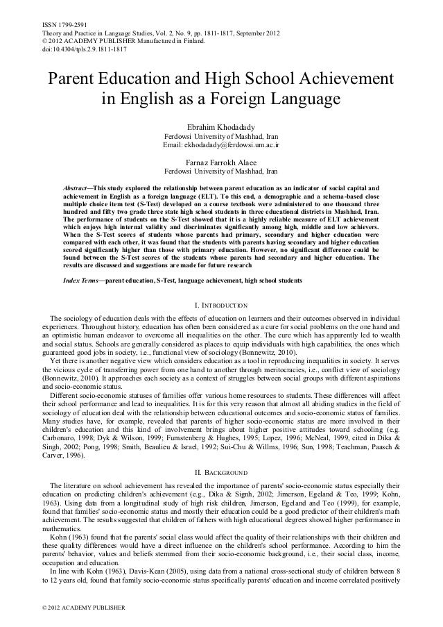 ISSN 1799-2591 Theory and Practice in Language Studies, Vol. 2, No. 9, pp. 1811-1817, September 2012 © 2012 ACADEMY PUBLIS...
