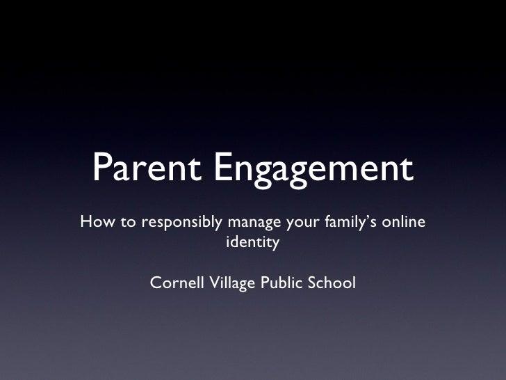 Parent engagement cvps