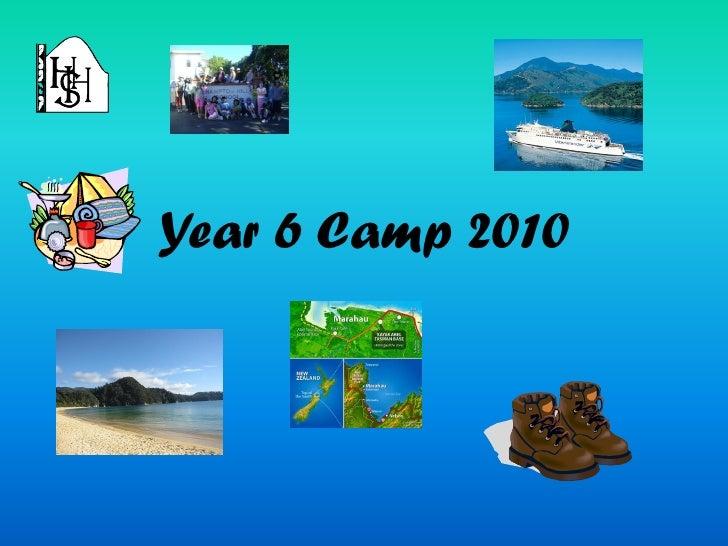 Year 6 Camp 2010