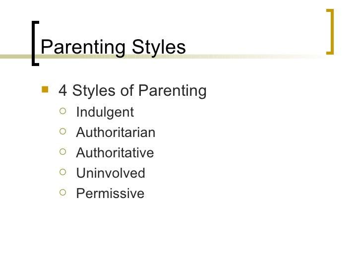 a comparison between authoritative and permissive parenting A former stanford dean explains the difference between authoritarian and authoritative permissive, authoritarian, and authoritative authoritative parenting.