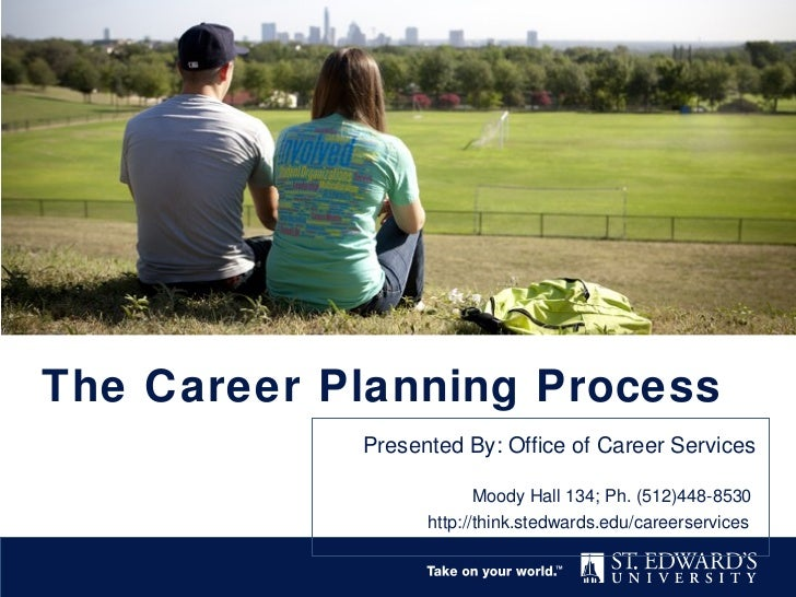 The Career Planning Process            Presented By: Office of Career Services                         Moody Hall 134; Ph....