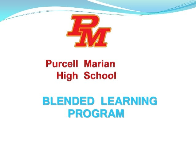 Purcell Marian Blended Learning