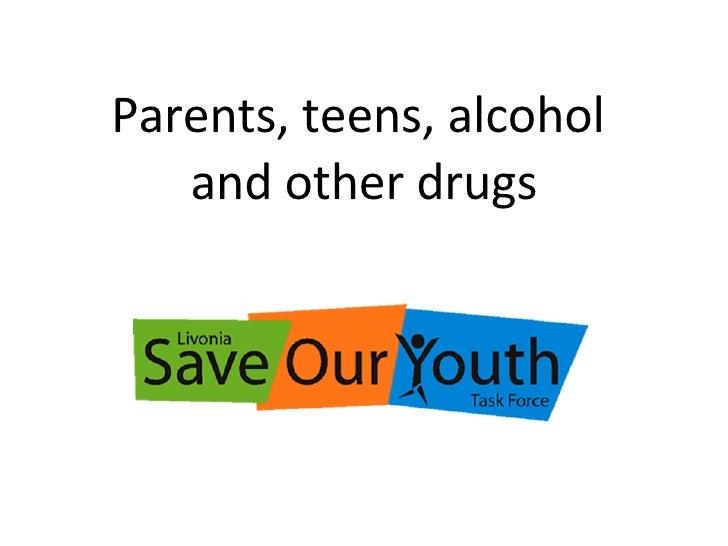 Parents Teens Drugs