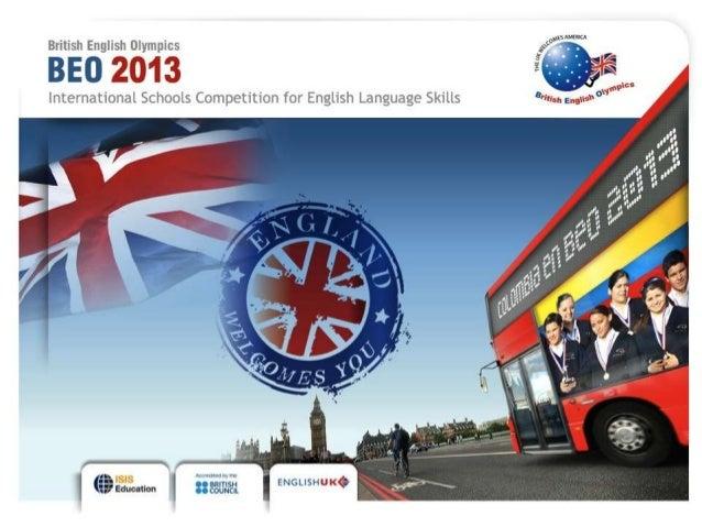 British English Olympics