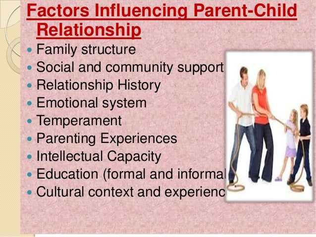 interdependent relationship between parent and child