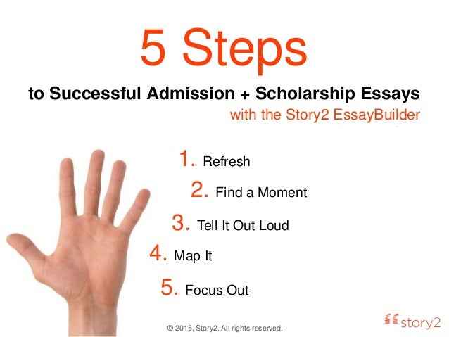 Can someone please explain the Admissions Essay process?