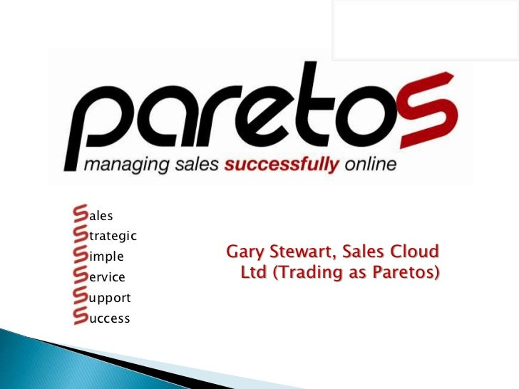 Paretos   the business opportunity 07112010