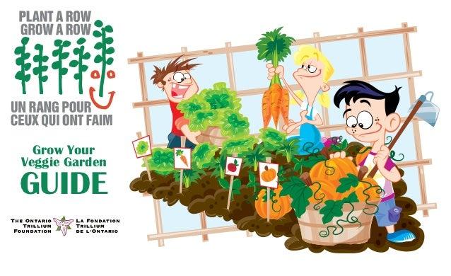 Plant a Row - Grow Your Veggie Garden - How to Handbook