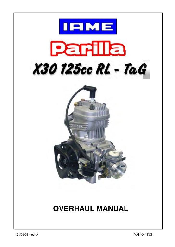 OVERHAUL MANUAL28/09/05 mod. A         1           MAN-044 ING