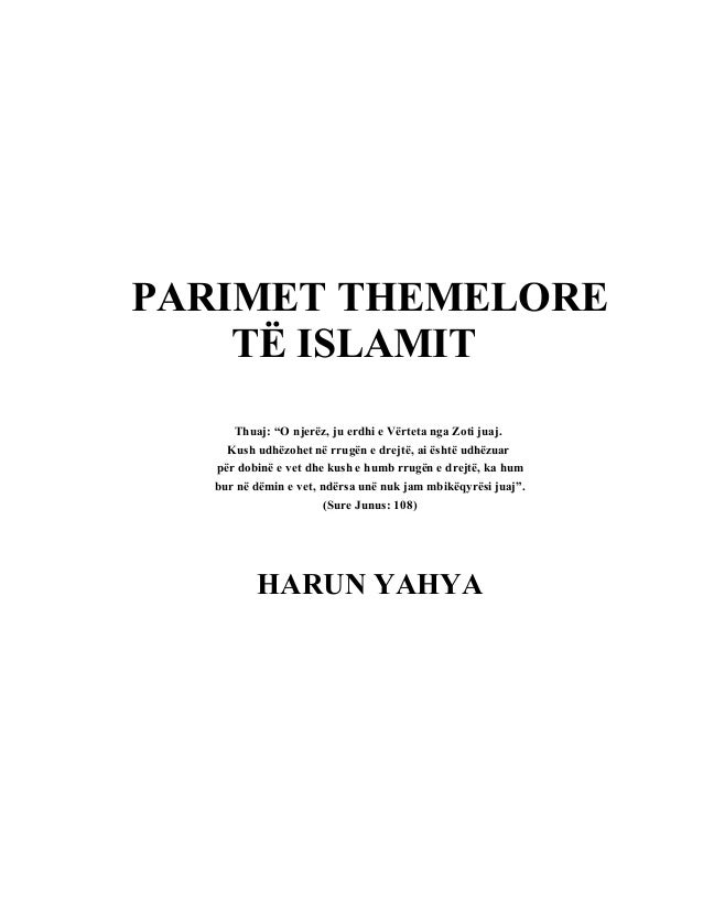 Parimet themelore te_islamit