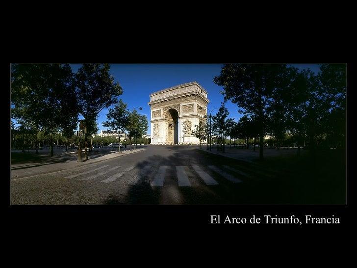 El Arco de  Triunfo, Francia