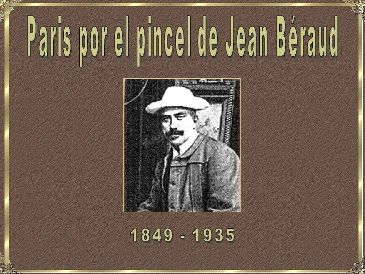 Paris por el pincel de Jean Béraud 1849 - 1935