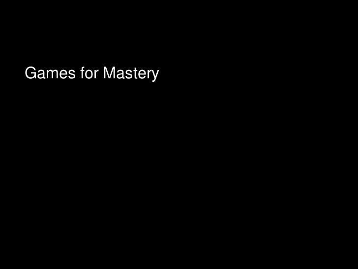 David Williamson Shaffer: Epistemic Games (Paris juin 2011)
