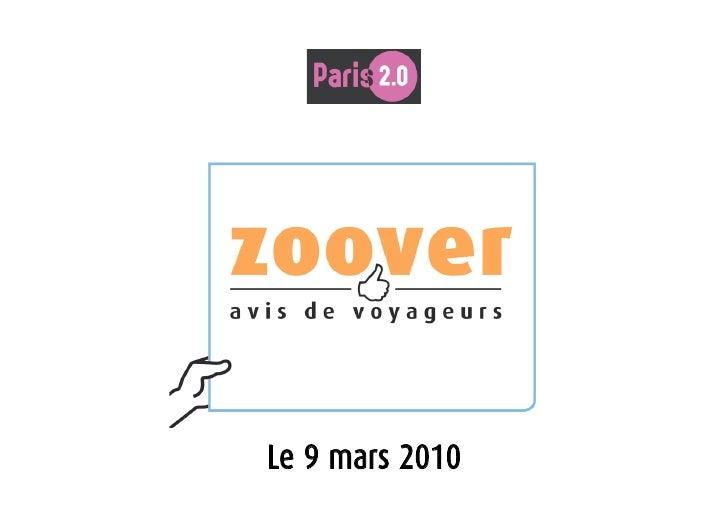 Paris 2.0     Le 9 mars 2010